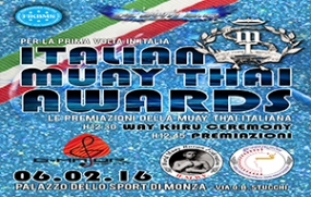 ITALIAN MUAY THAI AWARDS